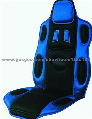 Blue Auto Seat Cushion