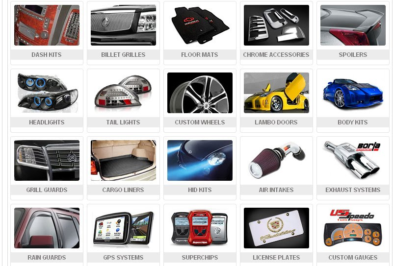 Various Automobile Accessories