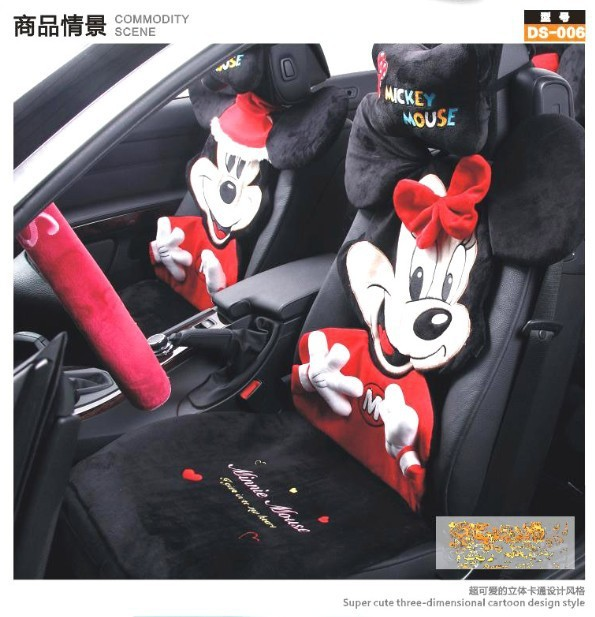 Mickey Minnie Automotive Seat Covers
