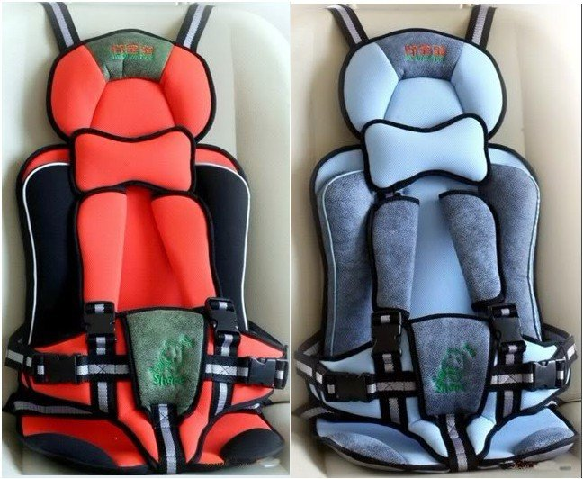 Red Blue Baby Car Seat For Sale