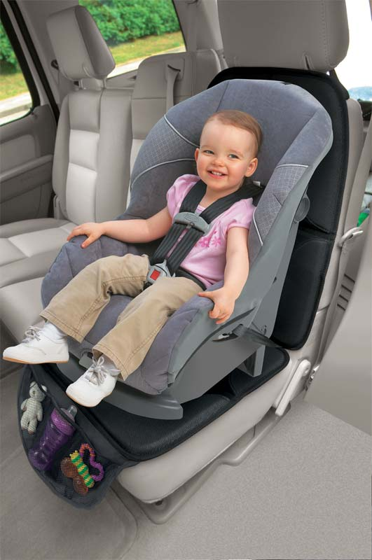 Check this Car Seat Mat For Baby Seat