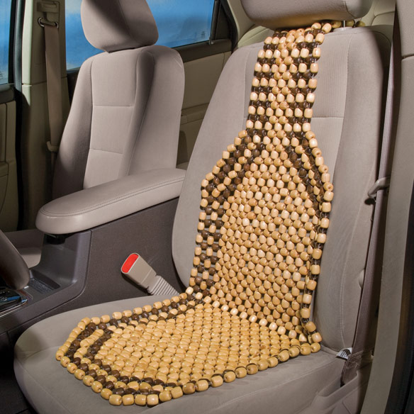 Deligthful Car Seat Wooden Beads