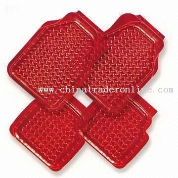 Red Floor Mats For Car