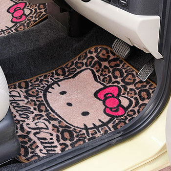 Adorable Hello Kitty Car Mats