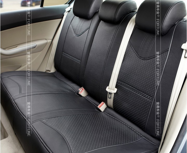 Silky Leather Car Seat