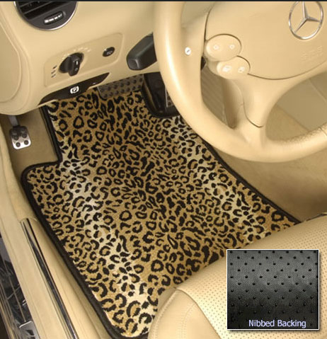 Awesome Leopard Print Car Mats 2017
