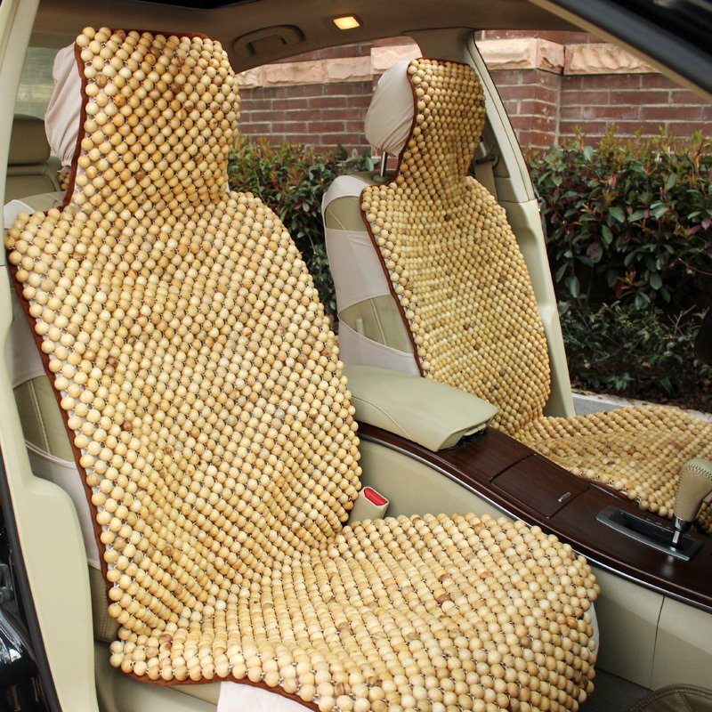 Enticing Wooden Beads Car Seat