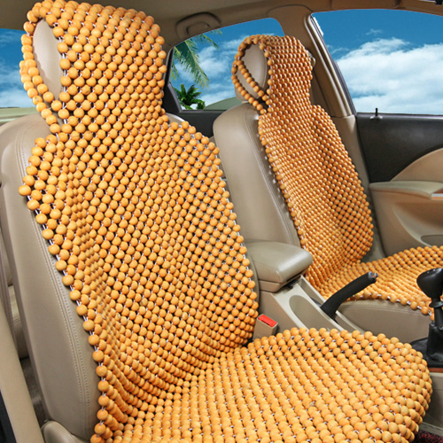 Exquisite Wooden Beads For Car Seat