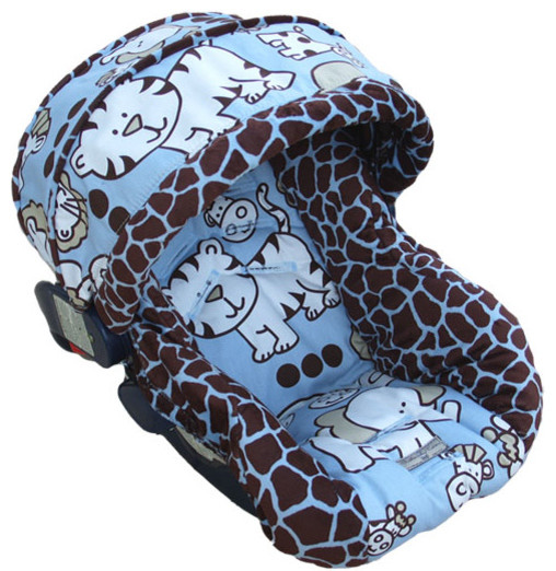 Cartoon Baby Car Seat Covers For Boys