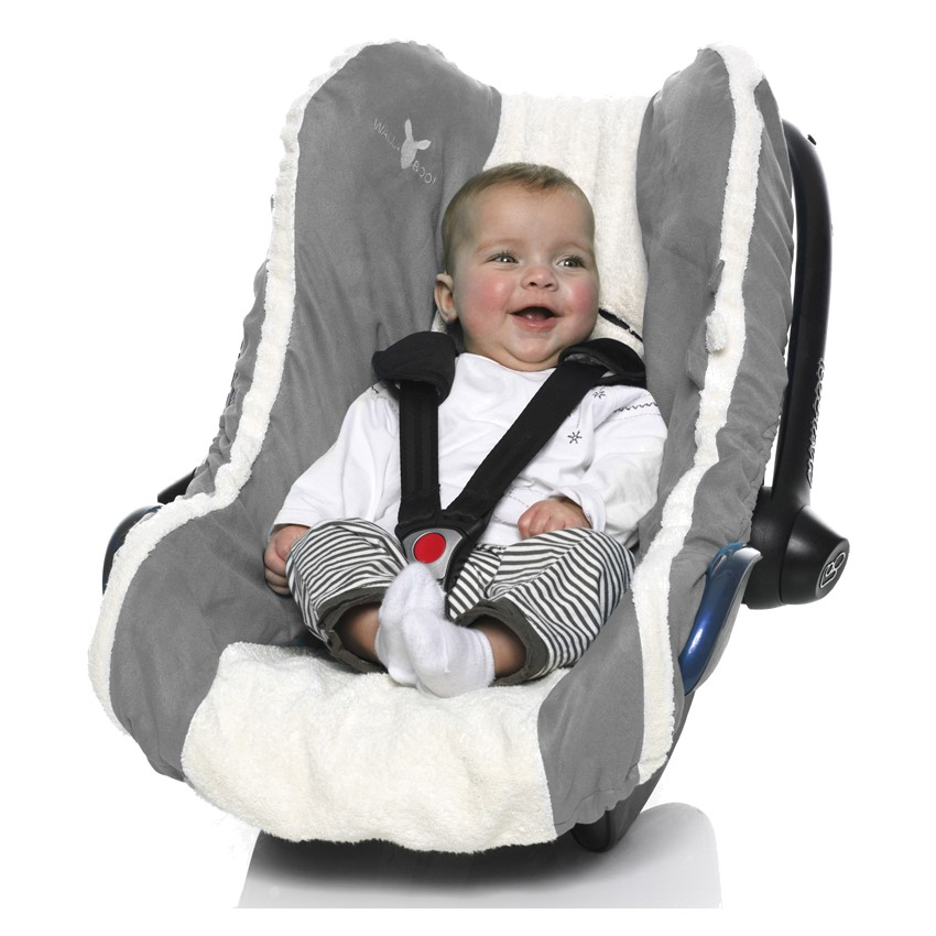 Grey Car Seat Infant