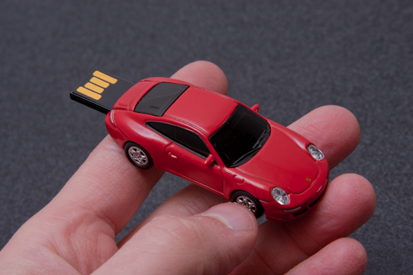 Red Usb In Auto