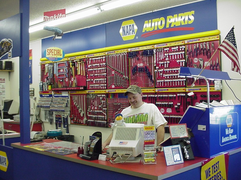 NAPA Car Parts Shop