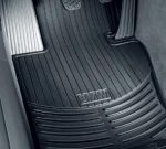 BMW X5 E70 Genuine Factory OEM 82550417964 All Season Front Floor Mats Black 2007 – 2012 (set of 2 front mats)
