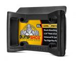 BumpShox XL – Front Car Bumper Protection, Ultimate Front Bumper Guard. Front Bumper Protection License Plate Frame. Tougher Than Steel !
