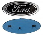 2005-2014 Ford F150 Black Oval 9″ X 3.5″ Front Grille Replacement Badge Emblem Medallion Name Plate