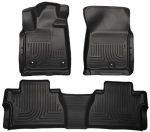 Husky Liners Front & 2nd Seat Floor Liners Fits 14-17 Tundra Double Cab