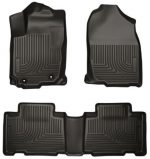 Husky Liners Front & 2nd Seat Floor Liners Fits 14-17 Corolla