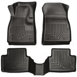 Husky Liners Front & 2nd Seat Floor Liners (Footwell Coverage) Fits 14-16 Impala