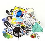 StillCool Stickers Skateboard Snowboard Vintage Vinyl Sticker Graffiti Laptop Luggage Car Bike Bicycle Decals Mix Lot Fashion Cool (100)
