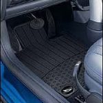 MINI Cooper Genuine Factory OEM 82550146457 Front All Season Floor Mats 2002 – 2006 (set of 2 front mats)