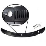 IMPROVED 2-Piece Windshield Wiper Cowl Vent Grille Panel Hood Assembly OEM Replacement for Ford 3R3Z6302228AAA