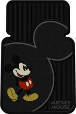 Vintage Mickey Mouse Universal-Fit Molded Front Floor Mats – Set of 2