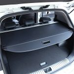 Vesul Black Retractable Rear Trunk Cargo Luggage Security Shade Cover Shield For Kia Sportage 2017