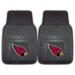 FANMATS NFL Arizona Cardinals Vinyl Heavy Duty Car Mat