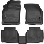Husky Liners Front & 2nd Seat Floor Liners Fits 13-16 Fusion Energi/Titanium