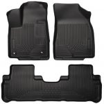 Husky Liners Front & 2nd Seat Floor Liners Fits 14-16 Highlander
