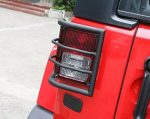 Opar Steel Rugged Off Road Taillight Cover for 2007-2017 Jeep Wrangler JK Sahara Rubicon – Pair