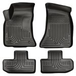 Husky Liners Front & 2nd Seat Floor Liners Fits 11-15 Challenger