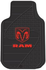 Dodge Factory Style Trim-To-Fit Molded Front Floor Mat – Set of 2