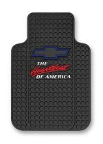 Chevy Heartbeat Of AmericaTrim-To-Fit Molded Front Floor Mats – Set of 2