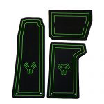 Cycle Springs Powersports Floor Mats for the Polaris Slingshot Black/Green