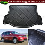 Car Boot Pad liner Cargo Mat Tray Trunk Floor Protector Mat For Nissan Rogue 2014 2015 2016 2017