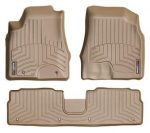 2006-2009 Lexus RX 400h Tan WeatherTech Floor Liner (Full Set)