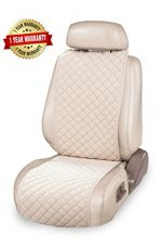 Luxury Car Seat Cover (1 unit) + Bonus Sticky Pad = Universal Protector for You (Royal Beige)