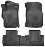 Husky Liners Front & 2nd Seat Floor Liners Fits 14-15 Civic EX/EX-L – 4 Door