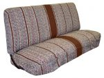 Full Size Truck Bench Seat Covers – Fits Chevrolet, Dodge, and Ford Trucks (Brown)