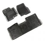 Rugged Ridge 82987.05 All-Terrain Floor Liner Kit (Black 15-17 Ford F-150)