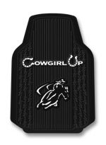 Cowgirl Up Trim-To-Fit Molded Front Floor Mats – Set of 2