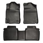 Husky Liners Front & 2nd Seat Floor Liners (Footwell Coverage) Fits 07-11 Camry