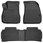 Husky Liners Front & 2nd Seat Floor Liners (Footwell Coverage) Fits 2016 Malibu