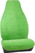 Bell Automotive 22-1-56253-8 Universal Shaggy Bucket Seat Cover, Green