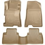 Husky Liners Front & 2nd Seat Floor Liners Fits 08-12 Accord 4 Door