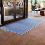 Andersen WaterHog Fashion Polypropylene Fiber Entrance Indoor/Outdoor Floor Mat, SBR Rubber Backing, 3/8″ Thick
