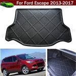 Car Boot Pad Carpet Car Mat Cargo Mat Trunk Liner Tray Floor Mat Cargo Liner For Ford Escape 2013 2014 2015 2016 2017