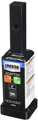 Reese Towpower 7020500 1-1/4″ to 2″ Receiver Adapter – 6″ Long