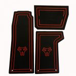 Cycle Springs Powersports Floor Mats for the Polaris Slingshot Black/Red